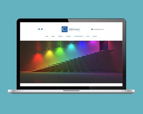 Portfolio: C3 Advisory website by Kite Web Design