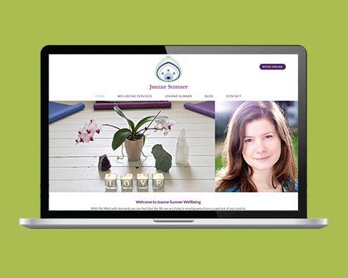 Portfolio: Joanne Sumner website by K